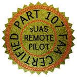 Part 107 Certified UAS Remote Pilot